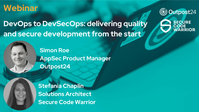 DevOps to DevSecOps: delivering quality and secure development from the start