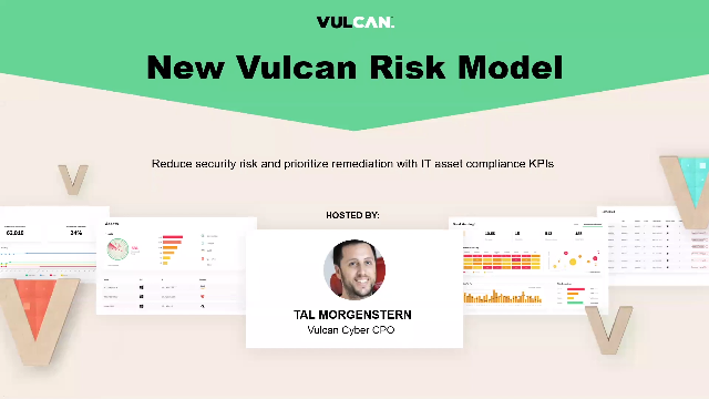 Vulcan Risk Analytics overview and demo #TRS121