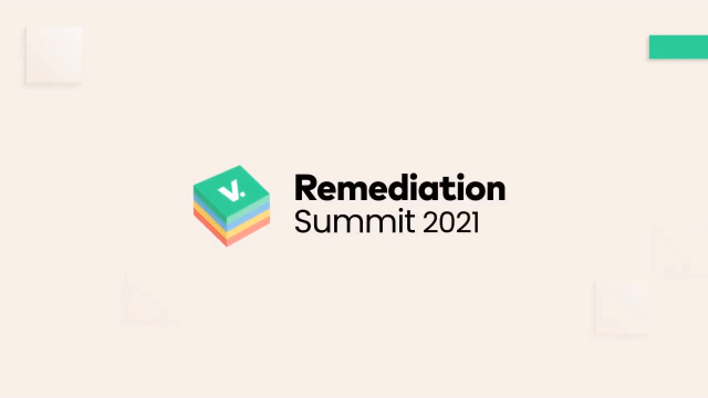 The Remediation Summit 2021 #TRS121