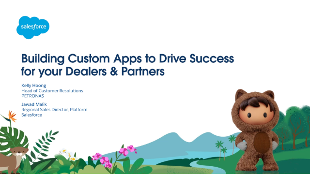 Building Custom Apps to Drive Success for your Dealers & Partners