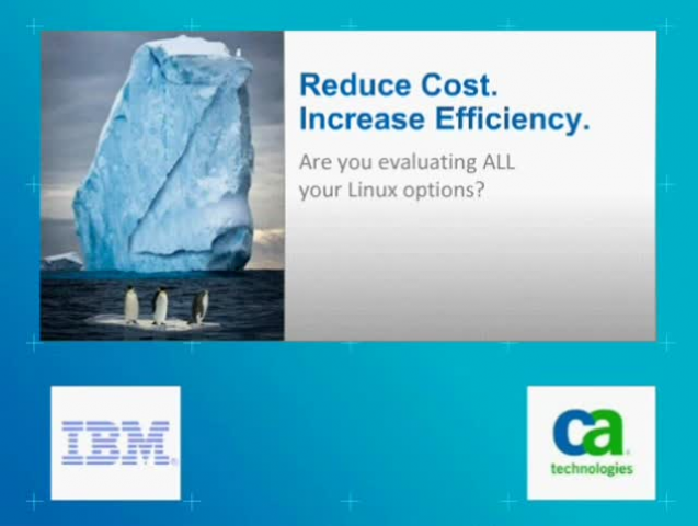 Reduce Costs. Increase Efficiency. Are You Evaluating ALL Your Linux Options?