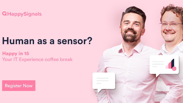 Why are humans the best sensors for ITSM?