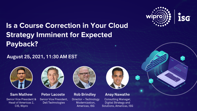 Is a Course Correction in Your Cloud Strategy Imminent for Expected Payback?