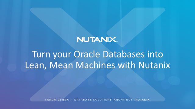 The Oracle Workout: Turn your Oracle Databases into Lean, Mean Machines