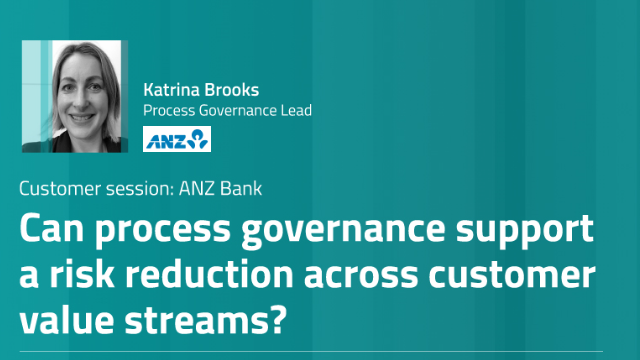 Can Process Governance support a risk reduction across Customer Value Streams?