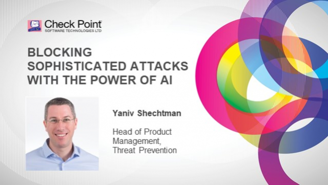 Blocking Sophisticated Attacks with the Power of AI
