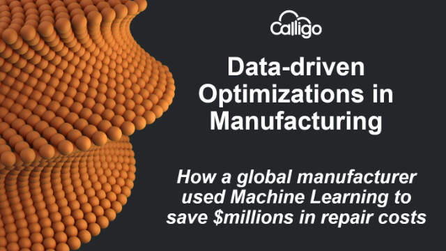 Data-driven Optimizations in Manufacturing through Machine Learning