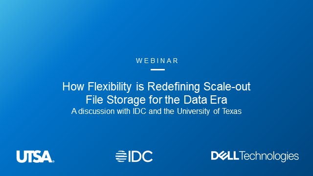 How Flexibility is Redefining Scale-out File Storage for the Data Era