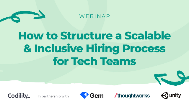How to Structure a Scalable and Inclusive Hiring Process for Tech Teams