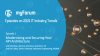2021 IT Industry Trends - Ep. 1: Modernising and Securing Your API Architecture