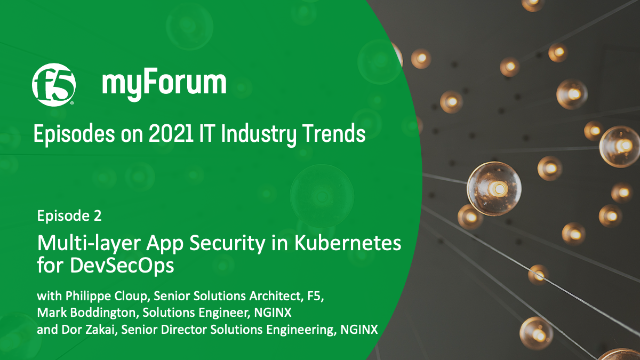 2021 IT Industry Trends - Ep. 2: Multi-layer App Security in Kubernetes
