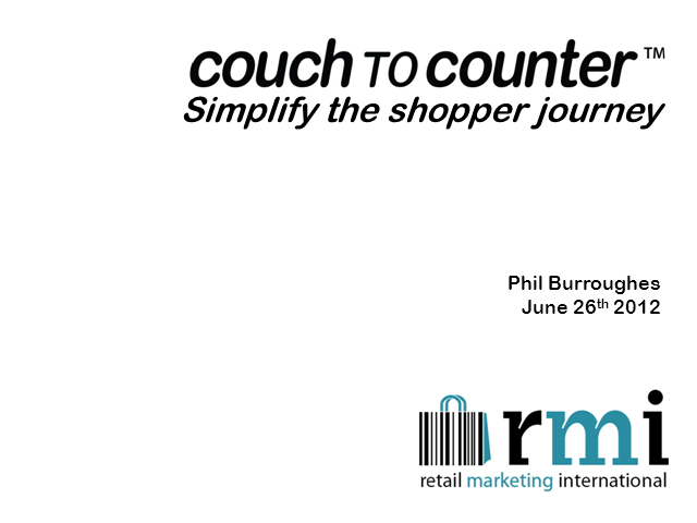 Simplify the Shopper Journey