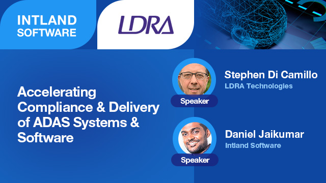 Accelerating Compliance and Delivery of ADAS Systems and Software