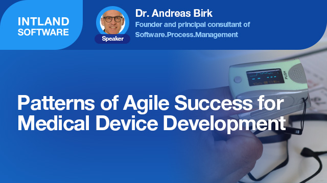 Patterns of Agile Success for Medical Device Development