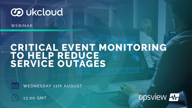 Critical event monitoring to help reduce service outages