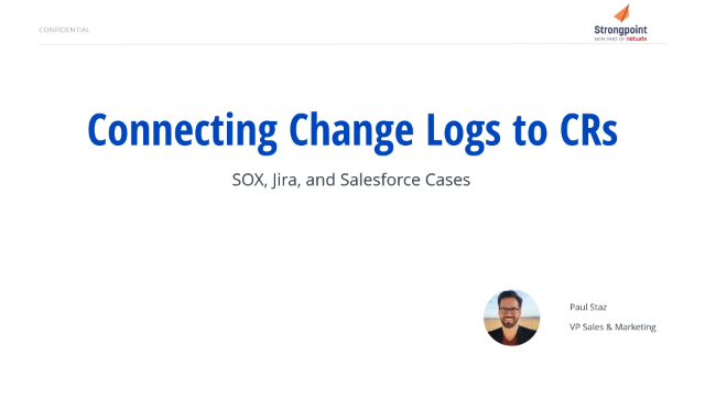 Streamlining SOX Compliance for Salesforce: Cases and Jira Integration