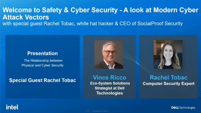 Safety & Security: A Look at Modern Cyber Security Attack Vectors