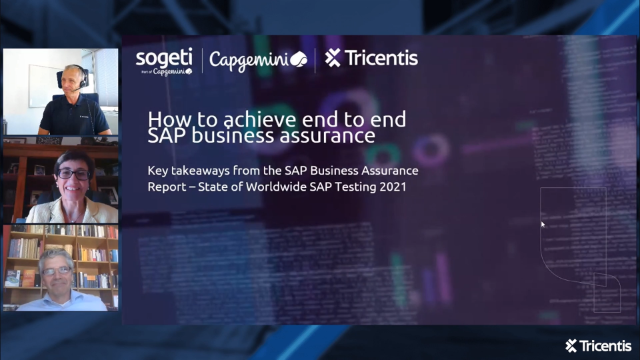 How to achieve end to end SAP business assurance