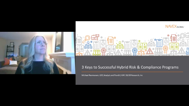 3 Keys to Successful Hybrid Risk and Compliance Programs