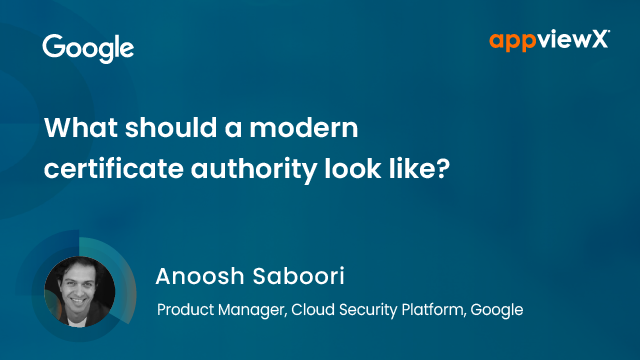 What should a modern certificate authority look like?