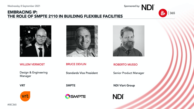 Embracing IP: The role of SMPTE 2110 in building flexible facilities