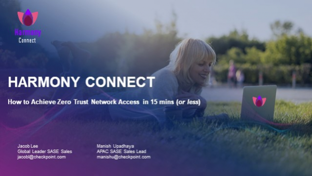 How to deploy Zero Trust Network Access in 15 mins for employees and contractors