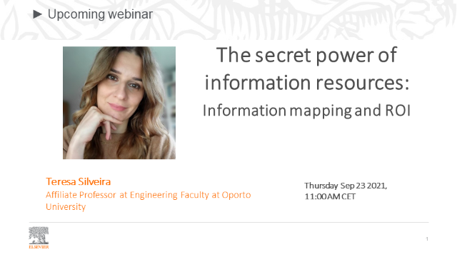 The secret power of information resources: Information mapping and ROI