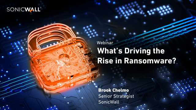 What's Driving the Rise in Ransomware?