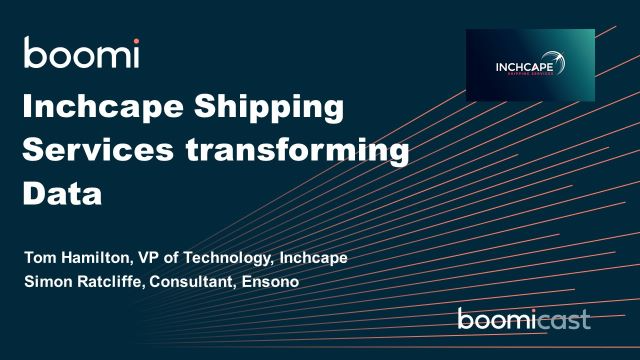 Inchcape Shipping Services transforming Data