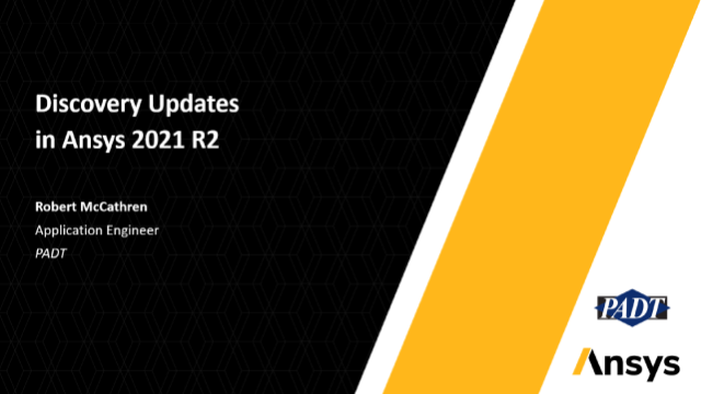Discovery Updates in Ansys 2021 R2
