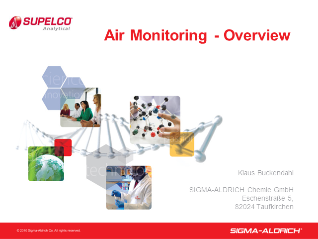Introduction to Air Monitoring