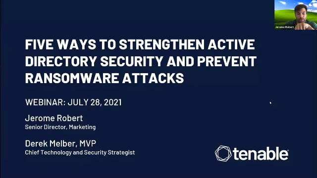 Five Ways to Strengthen Active Directory Security and Prevent Ransomware Attacks