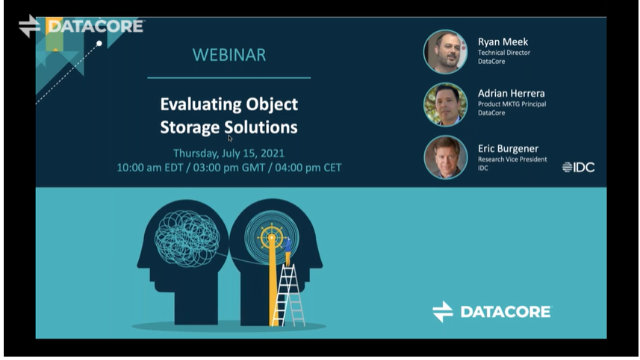 Evaluating Object Storage Solutions