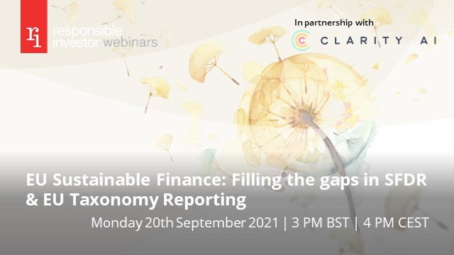 EU Sustainable Finance: Filling the gaps in SFDR & EU Taxonomy Reporting