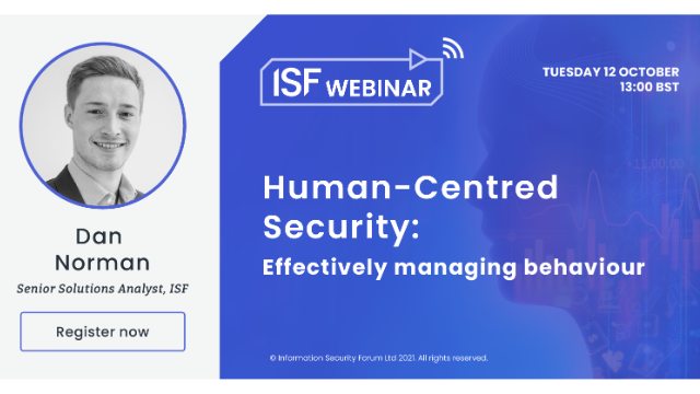 Human-Centred Security: Effectively managing behaviour