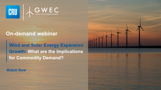 Wind and Solar Energy Expansion Growth: Implications for Commodity Demand?