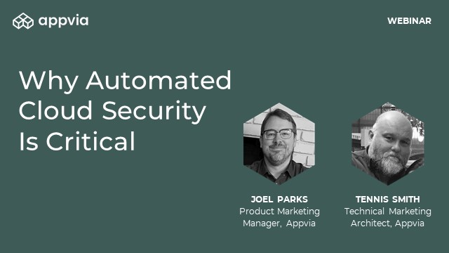Why Automated Cloud Security Is Critical