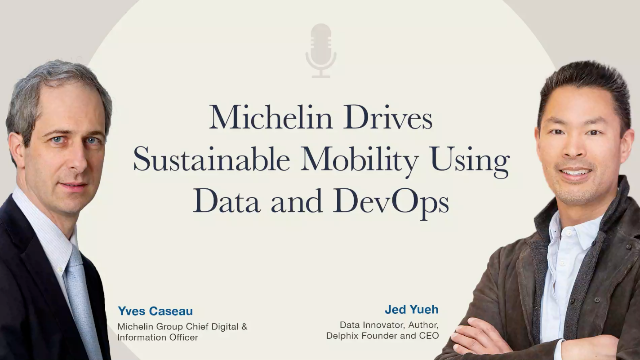 Michelin Drives Sustainable Mobility Using Data and DevOps