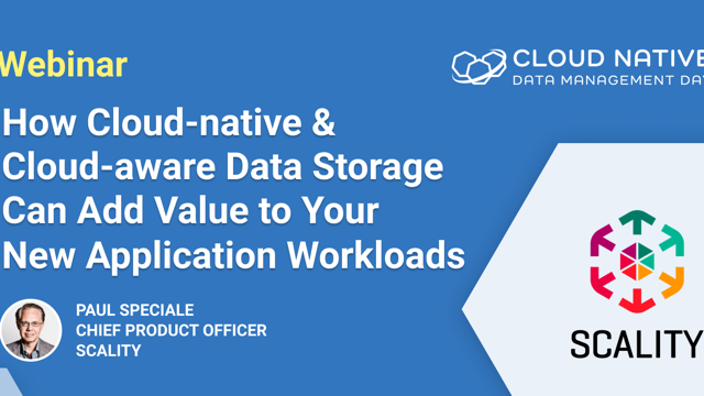 How cloud-native data storage can add value to your new application workloads