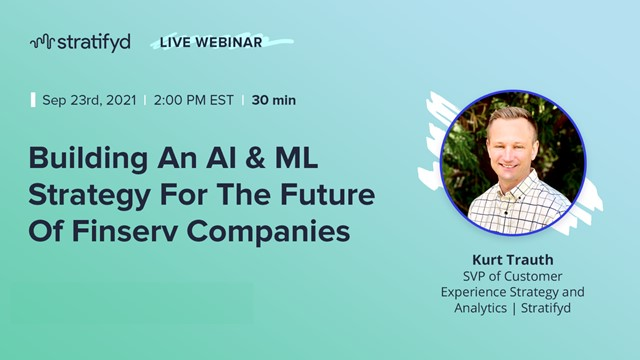 Building An AI & ML Strategy For The Future Of Finserv Companies