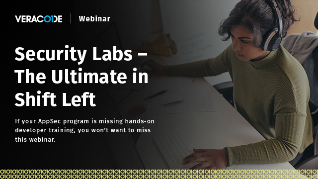 Security Labs - The Ultimate in Shift Left