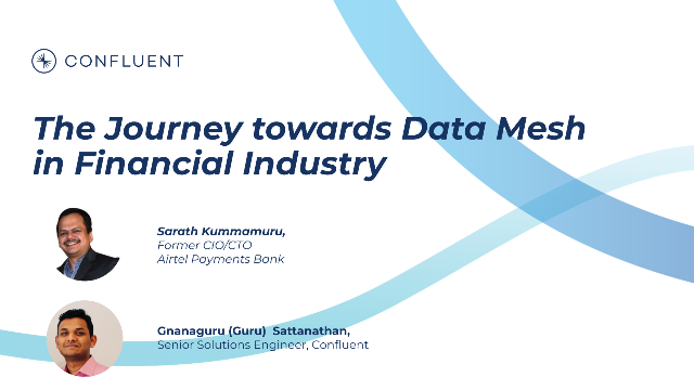 The Journey towards Data Mesh in Financial Industry