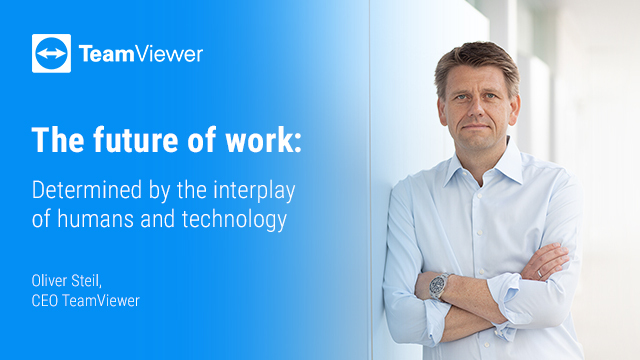 The Future of Work: Determined by the Interplay of Humans and Technology