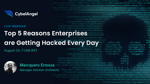Top 5 Reasons Enterprises are Getting Hacked Every Day