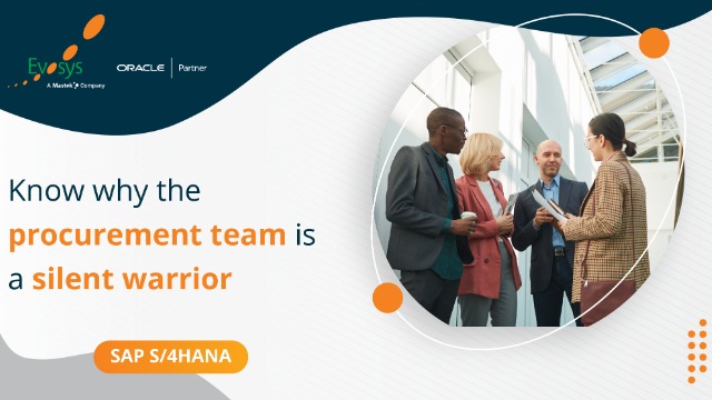 Episode 4   Vlog - Know Why the Procurement Team is a Silent Warrior