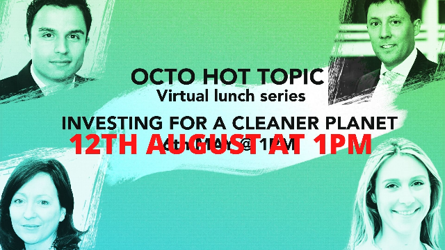 HOT TOPIC Investing for a cleaner planet