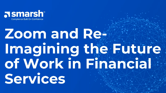 Re-imagining the Future of Work: Financial Services