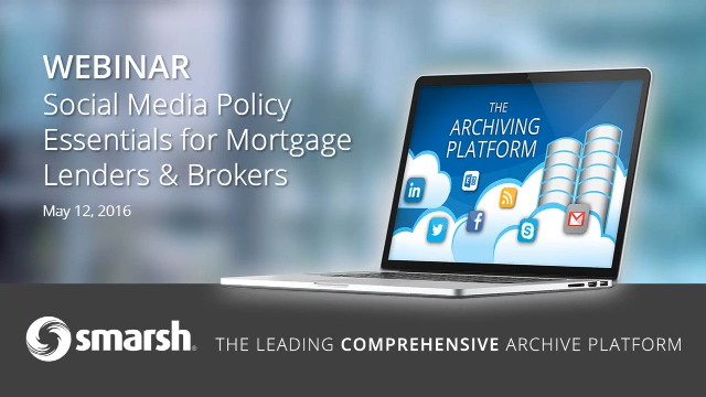 Adopting a Social Media Policy: 12 Essentials for Mortgage Lenders and Brokers