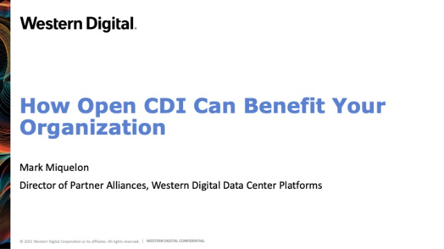 How Open CDI Can Benefit Your Organization
