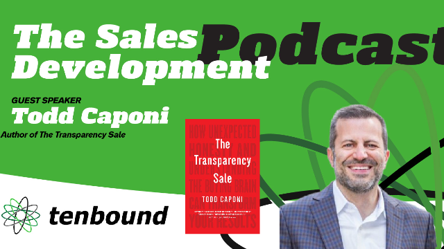 Todd Caponi  - The Transparency Sale